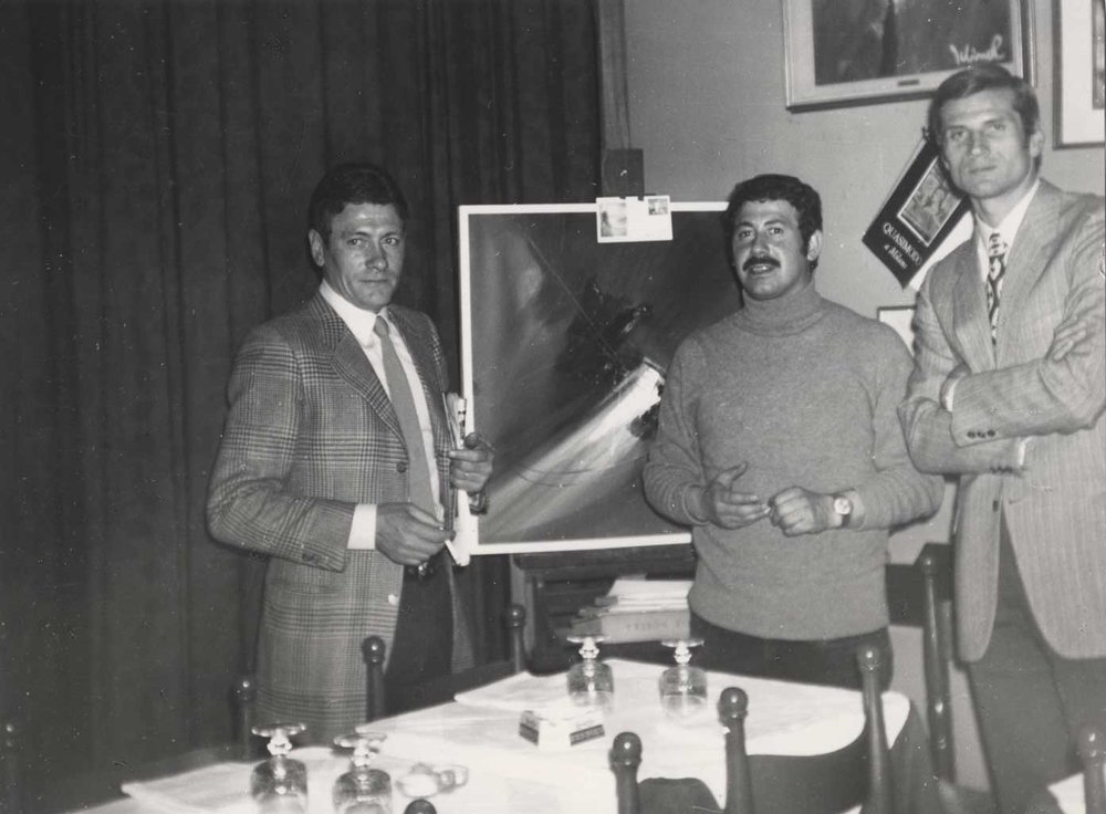 Gigi Radice, Rodolfo Viola, Giacinto Facchetti