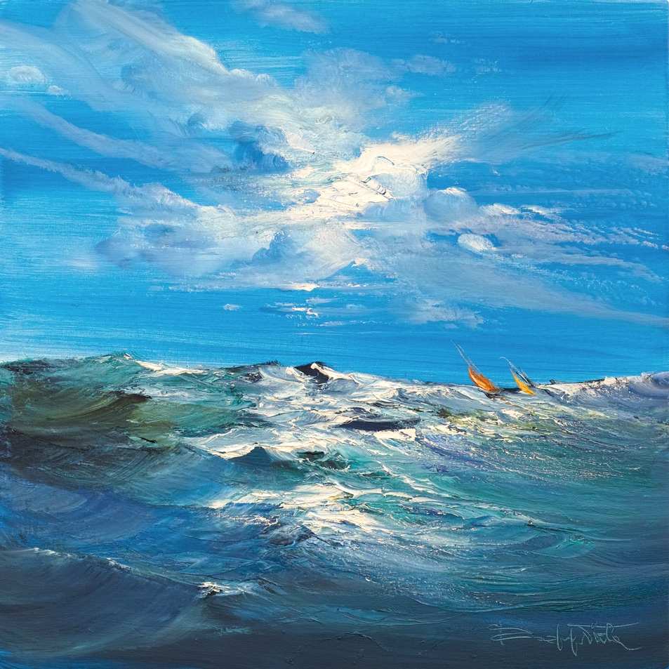 Rodolfo Viola ,  Insieme , oil on canvas, 50 x 50 cm