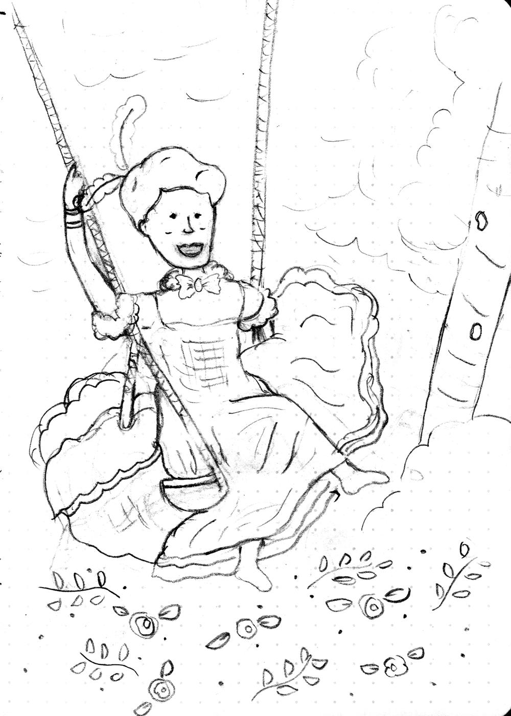 Blanche-Sketch