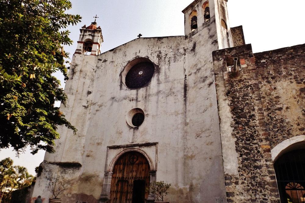 """""""Ex Convento de Santo Domingo de Guzmán (Oaxtepec) Estado de Morelos, México"""" by Catedrales e Iglesias/Cathedrals and Churches"""