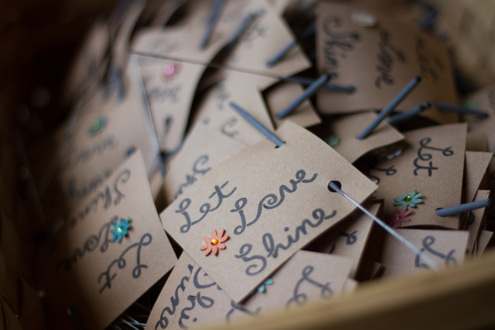 Favors at Bliss Farm in Granville, Massachusetts. Sweet Alice Photography.