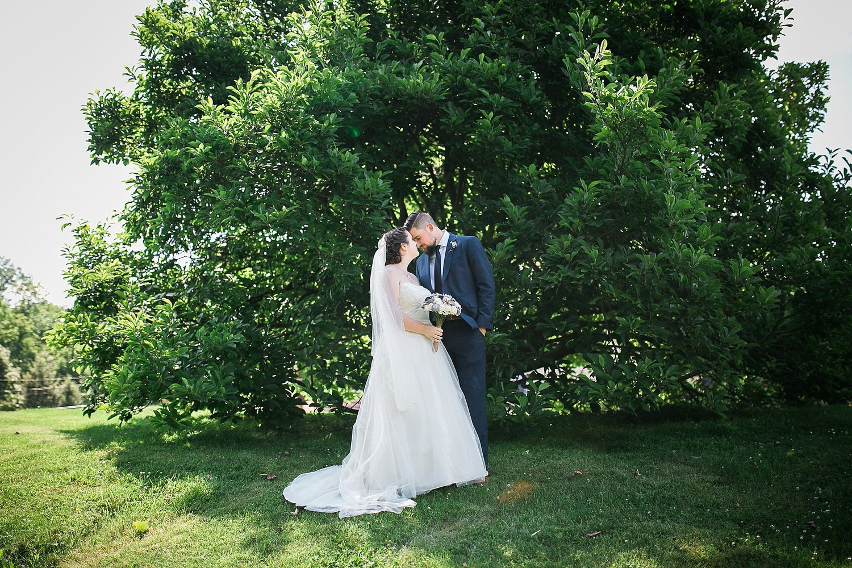 Mr Mrs Hart A Lush Summer Wedding In New Paltz NY