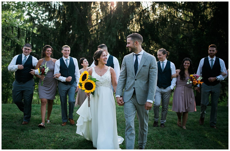 Mr Mrs Gidaly A Bright Backyard Wedding In New Paltz NY