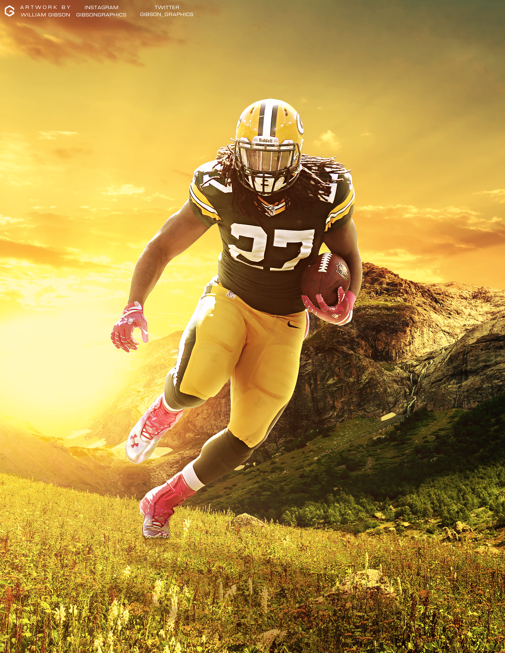 Eddie Lacy Poster
