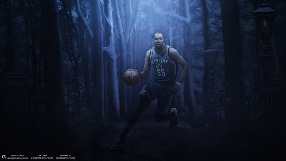 Kevin Durant Woods Wallpaper