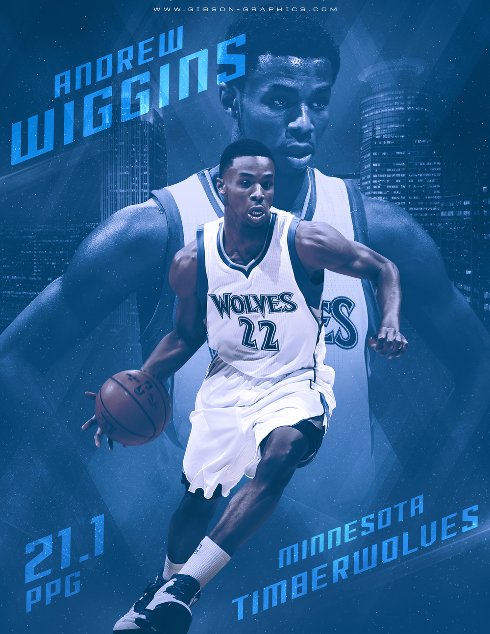 Andrew Wiggins Infographic