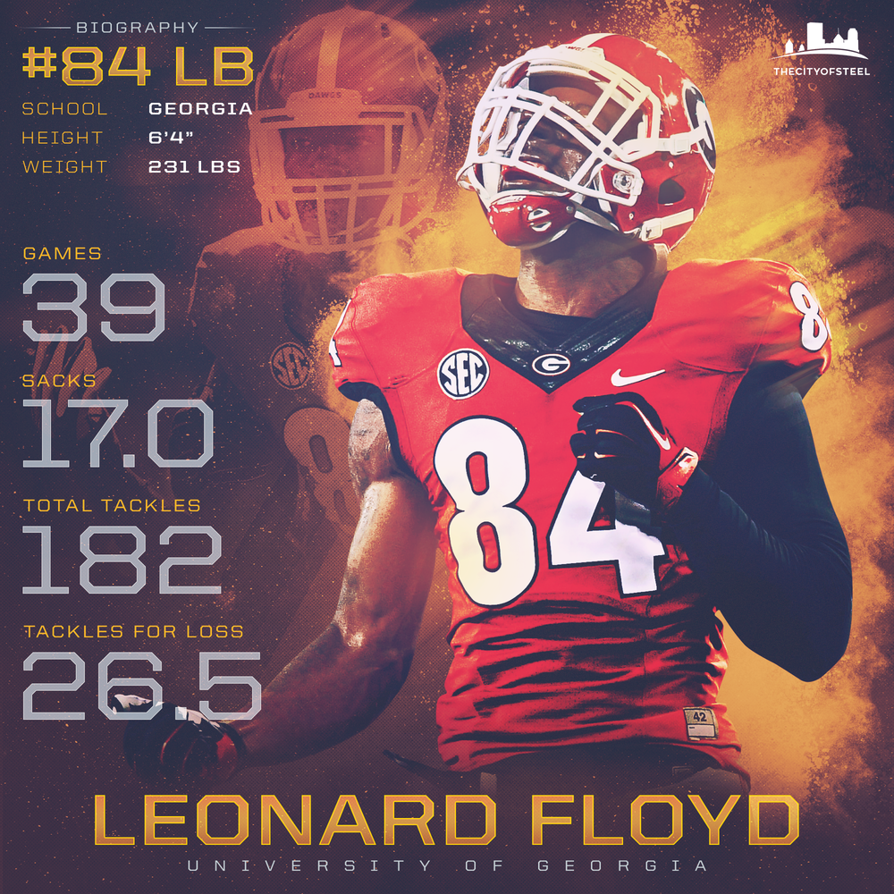 Leonard Floyd Infographic
