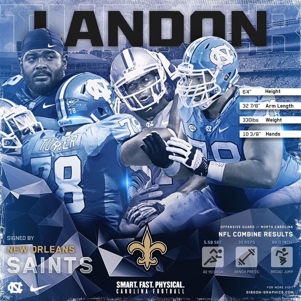 Landon Turner Free Agent Graphic