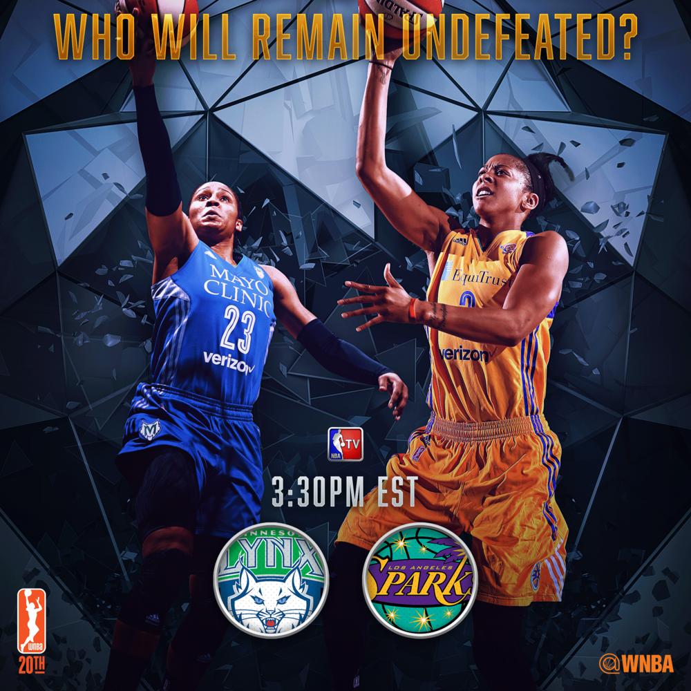 Tune In WNBA Graphic