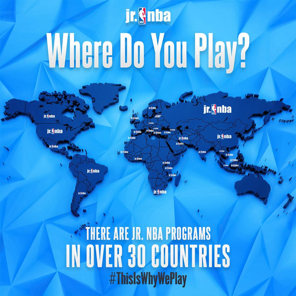 Jr NBA Where Do You Play?