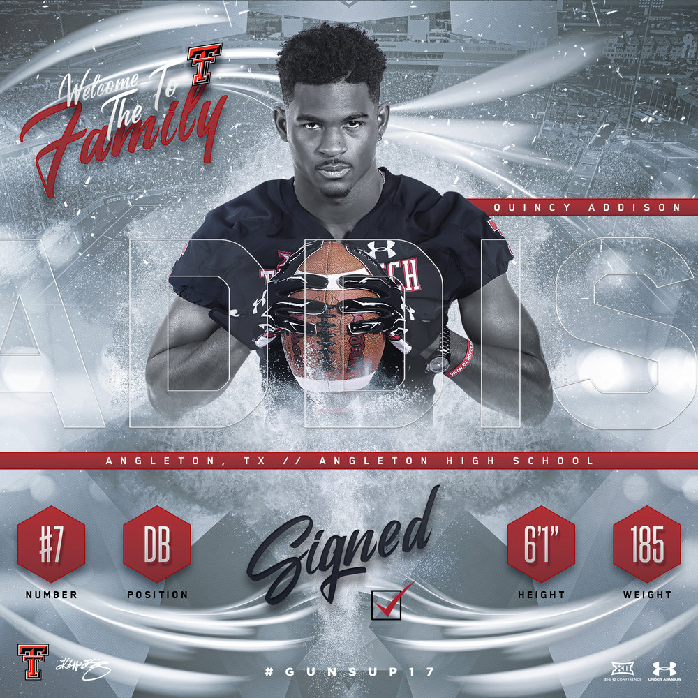 TTU Quincy Addison NSD Graphic