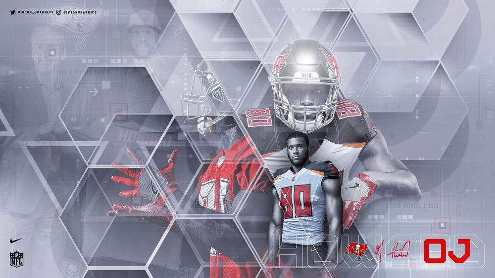 O.J. Howard Tampa Bay NFL Wallpaper