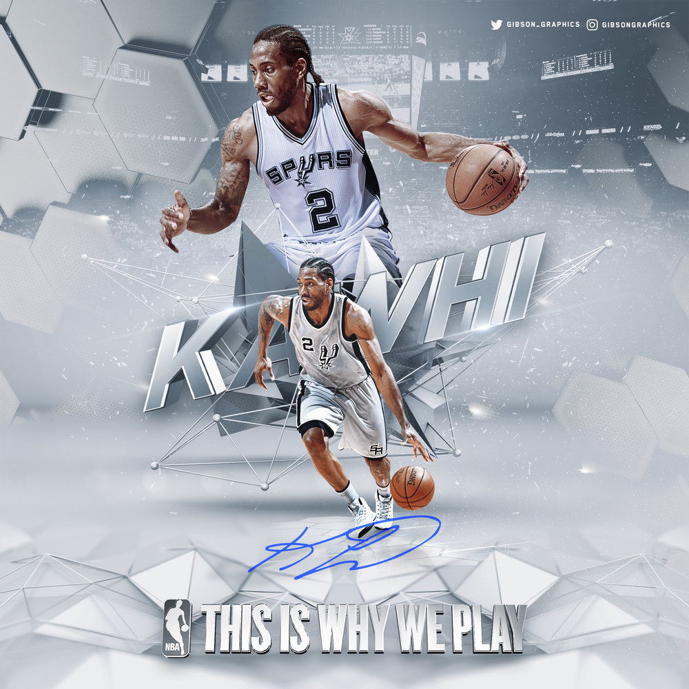 Kawhi Leonard This Is Why We Play Social