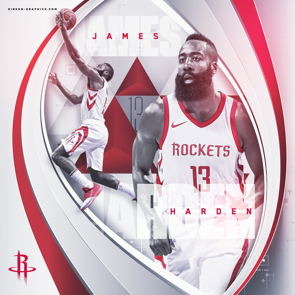 James Harden Houston Rockets Social