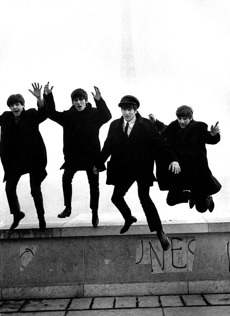 The Beatles in Paris, February 1964