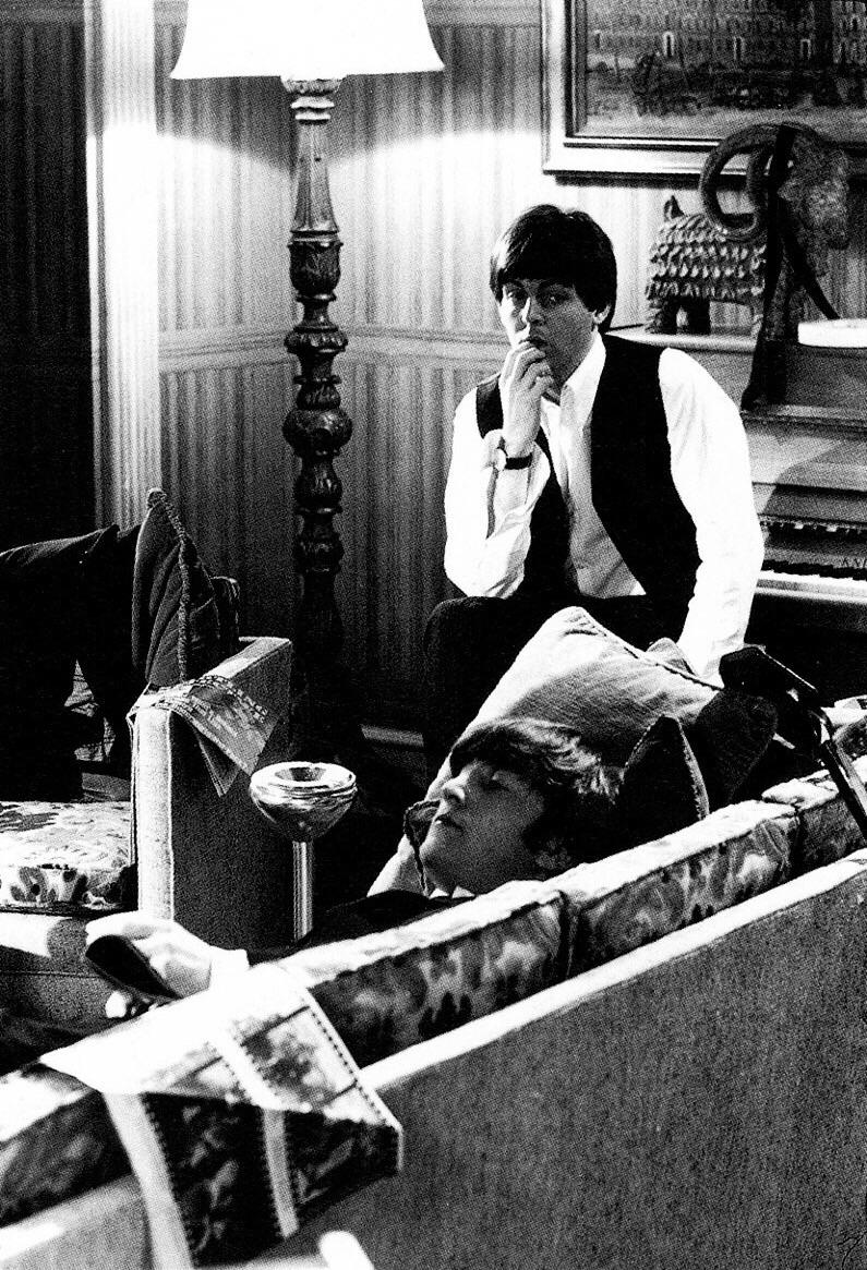 John Lennon and Paul McCartney, 1964