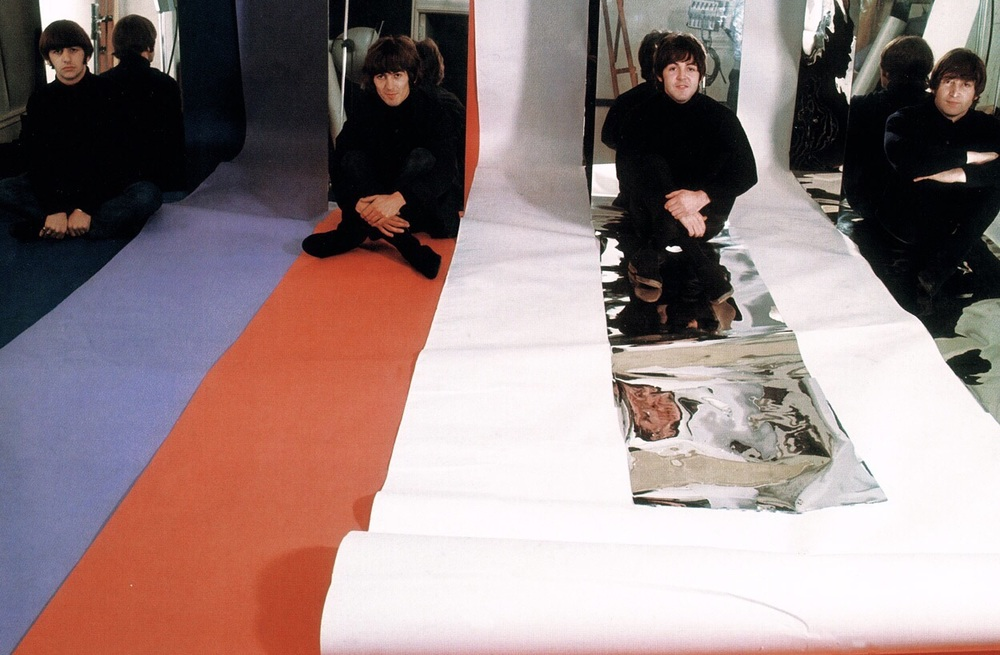 The Beatles photo shoot, December 1965