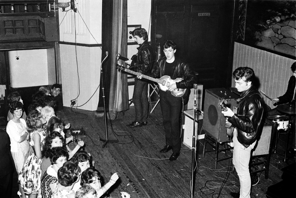 Early concert with Pete Best on drums, circa 1961
