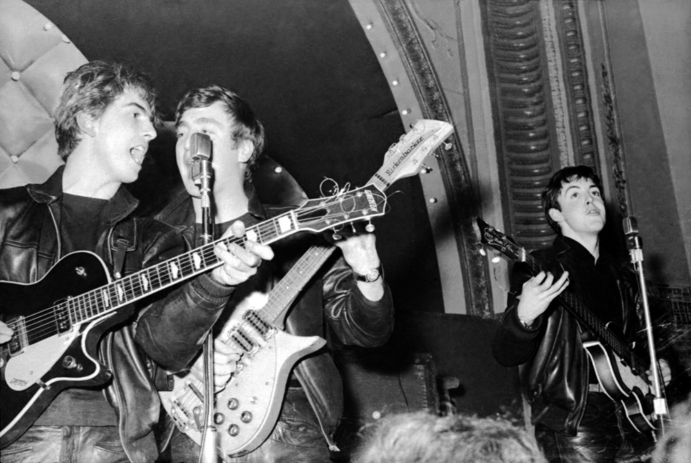 Early Beatles' gig, 1963.