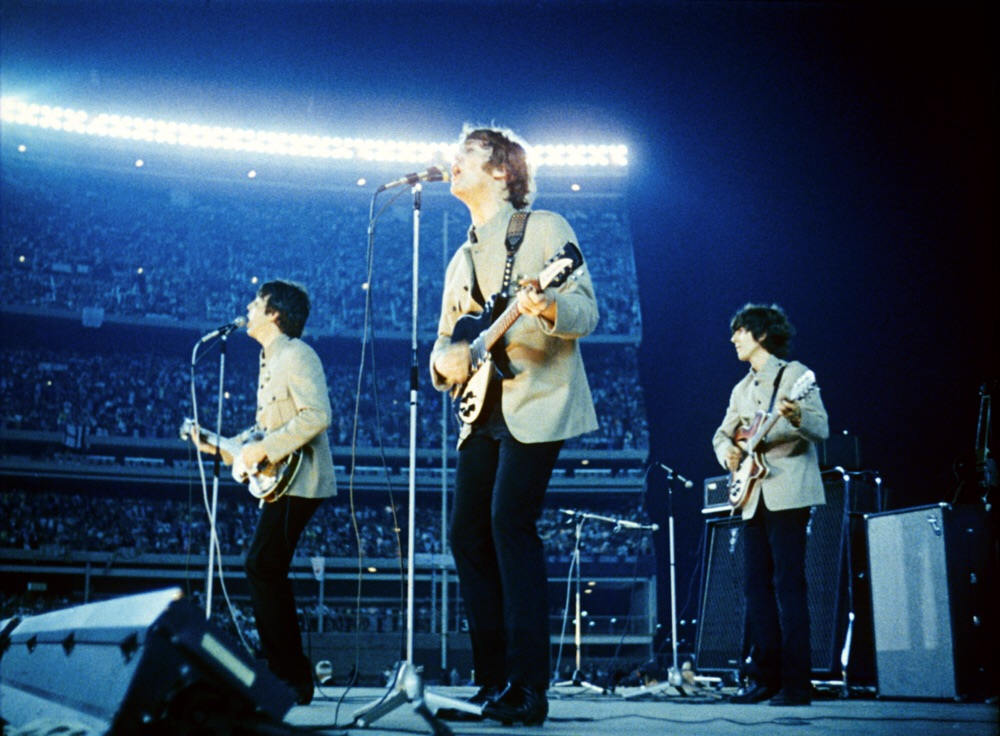 The Beatles at 'Shea Stadium', New York, August 15th 1965