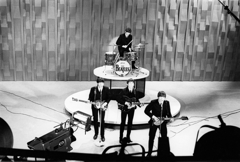 The Beatles on the 'Ed Sullivan Show', February 1964