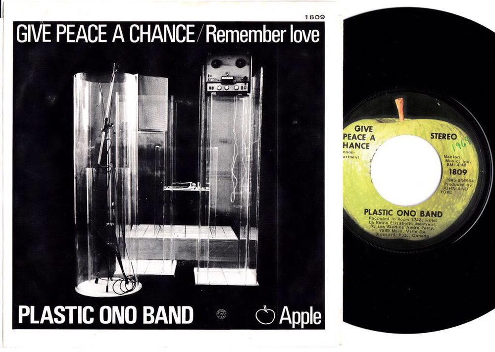 Give Peace a Chance single, 1969