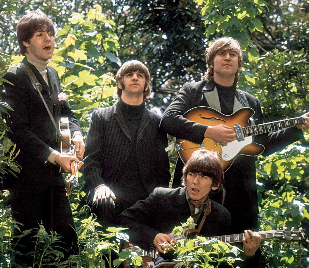 The Beatles at Chiswick House, May 20th, 1966.