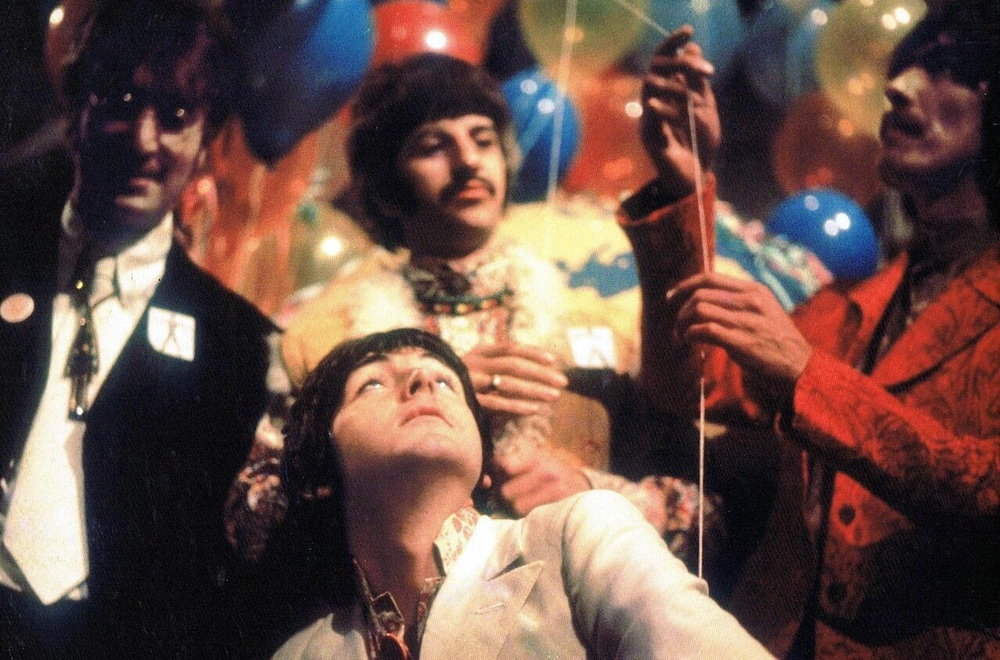 Publicity photo for 'All You Need Is Love', 1967.