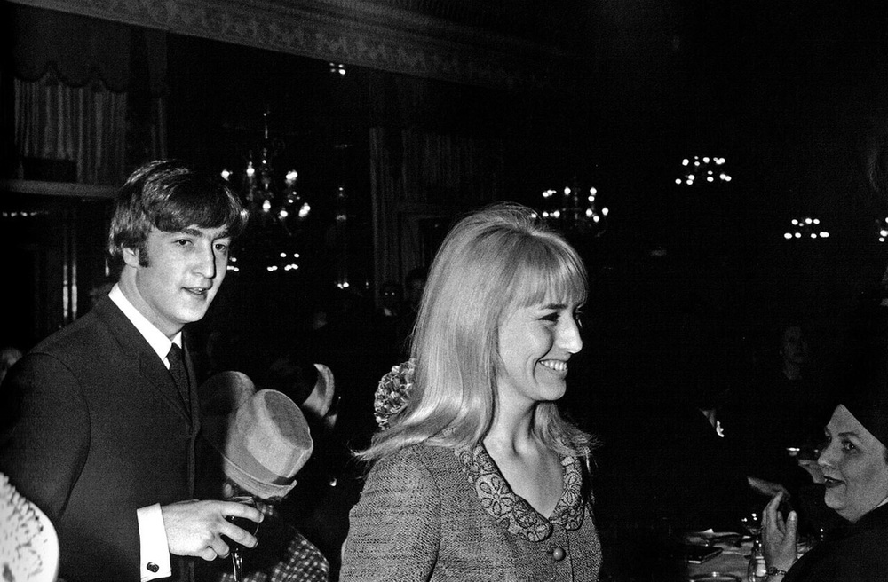 John and Cynthia Lennon, April 1964.