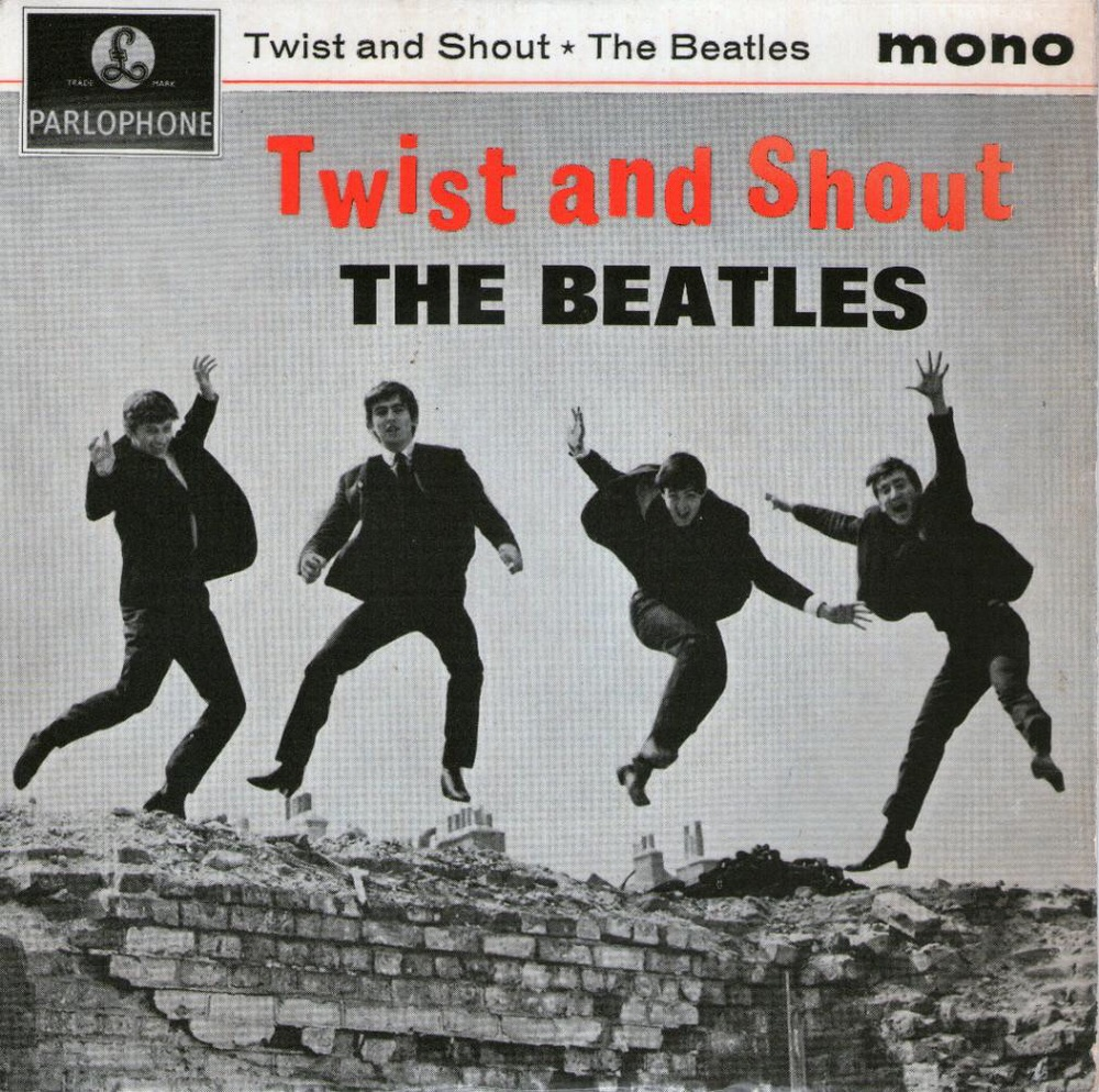 'Twist and Shout' EP cover from the Beatles, July 12th, 1963.