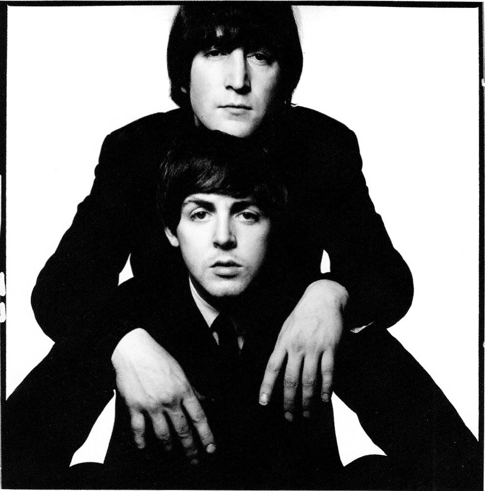 John Lennon and Paul McCartney, 1965.