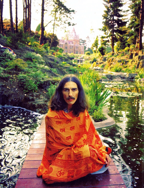 George Harrison circa 1973.