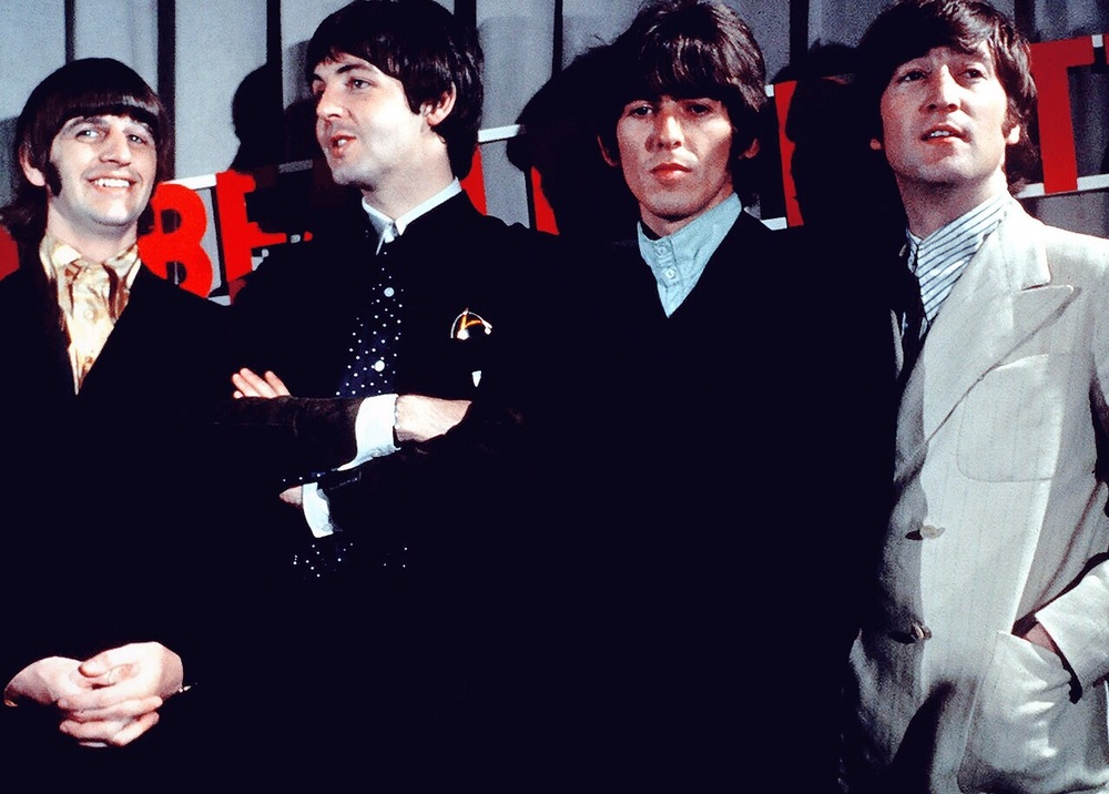 The Beatles circa 1966