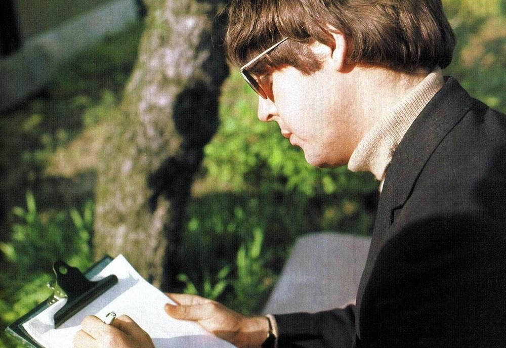 Paul McCartney circa, 1966.