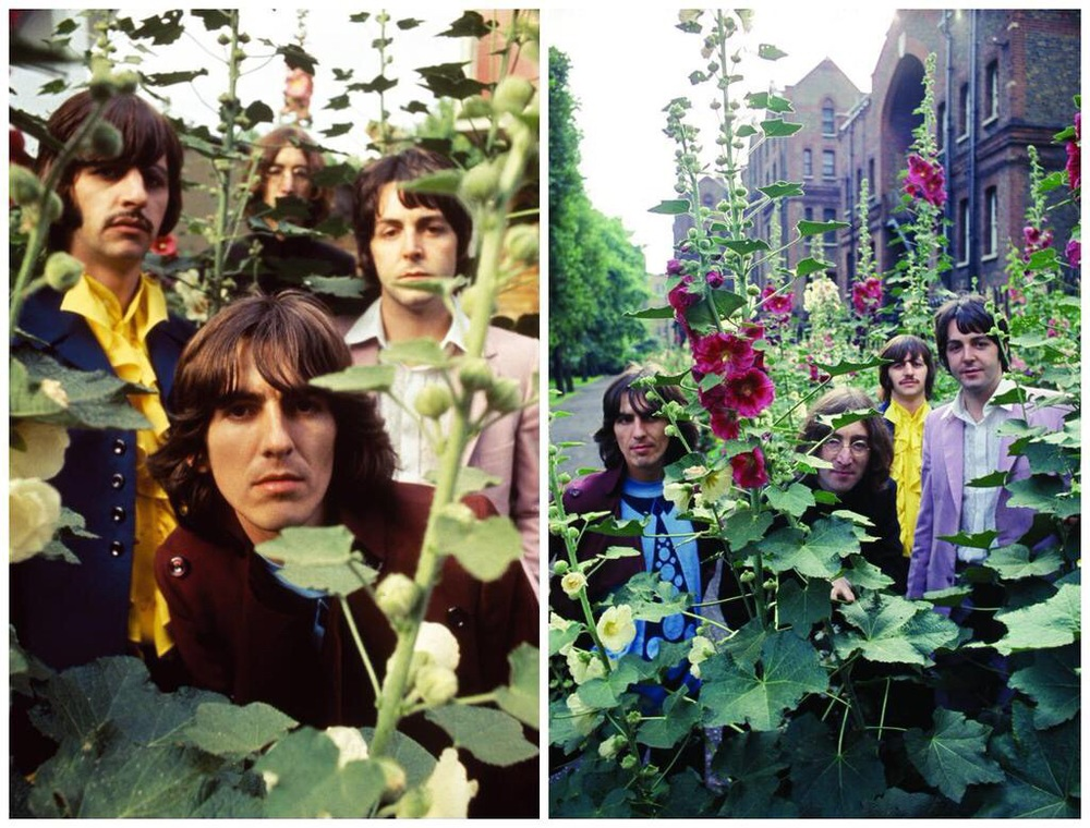The Beatles' 'Mad Day Out' July 28th, 1968.