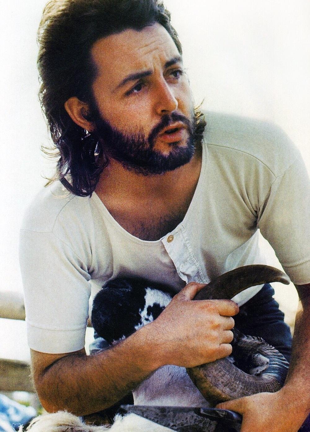 Paul McCartney circa 1971.