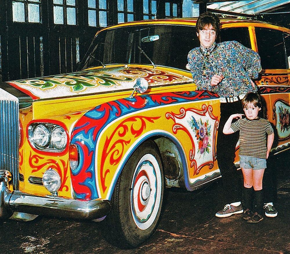 John and Julian Lennon 1967.