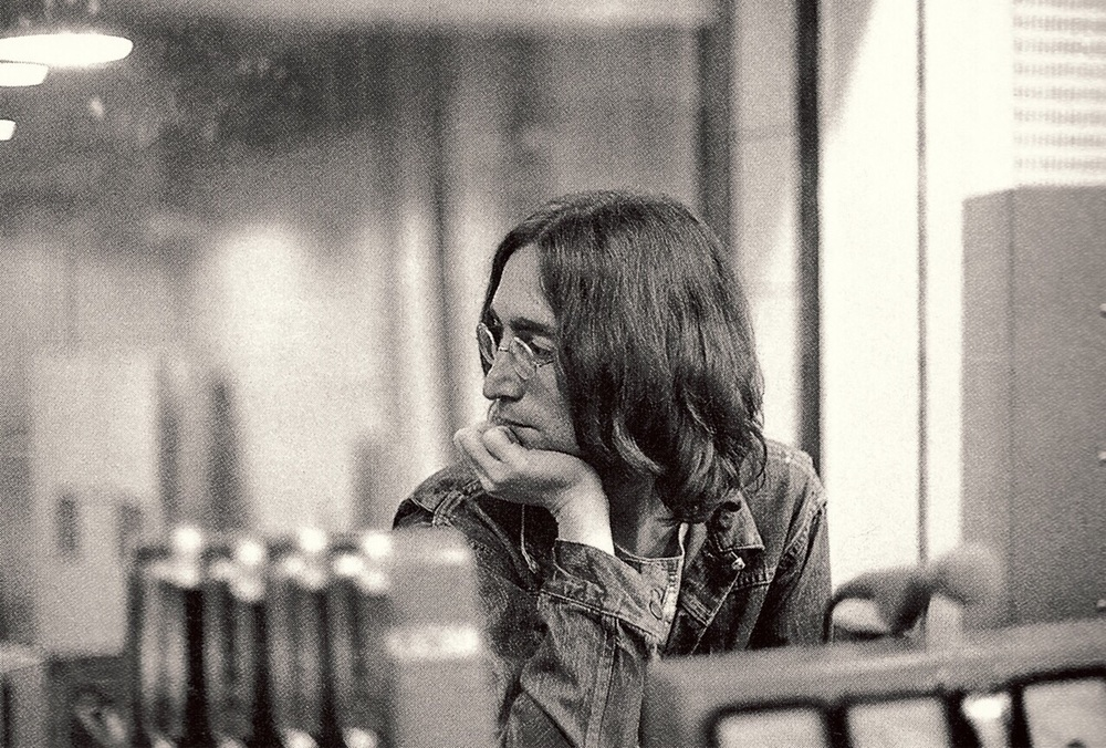 John Lennon 1968; photo by Linda McCartney.