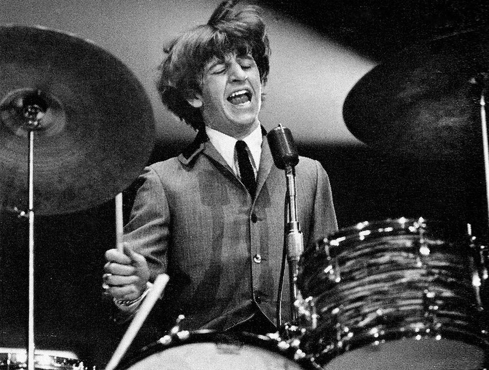 Ringo Starr circa 1964.
