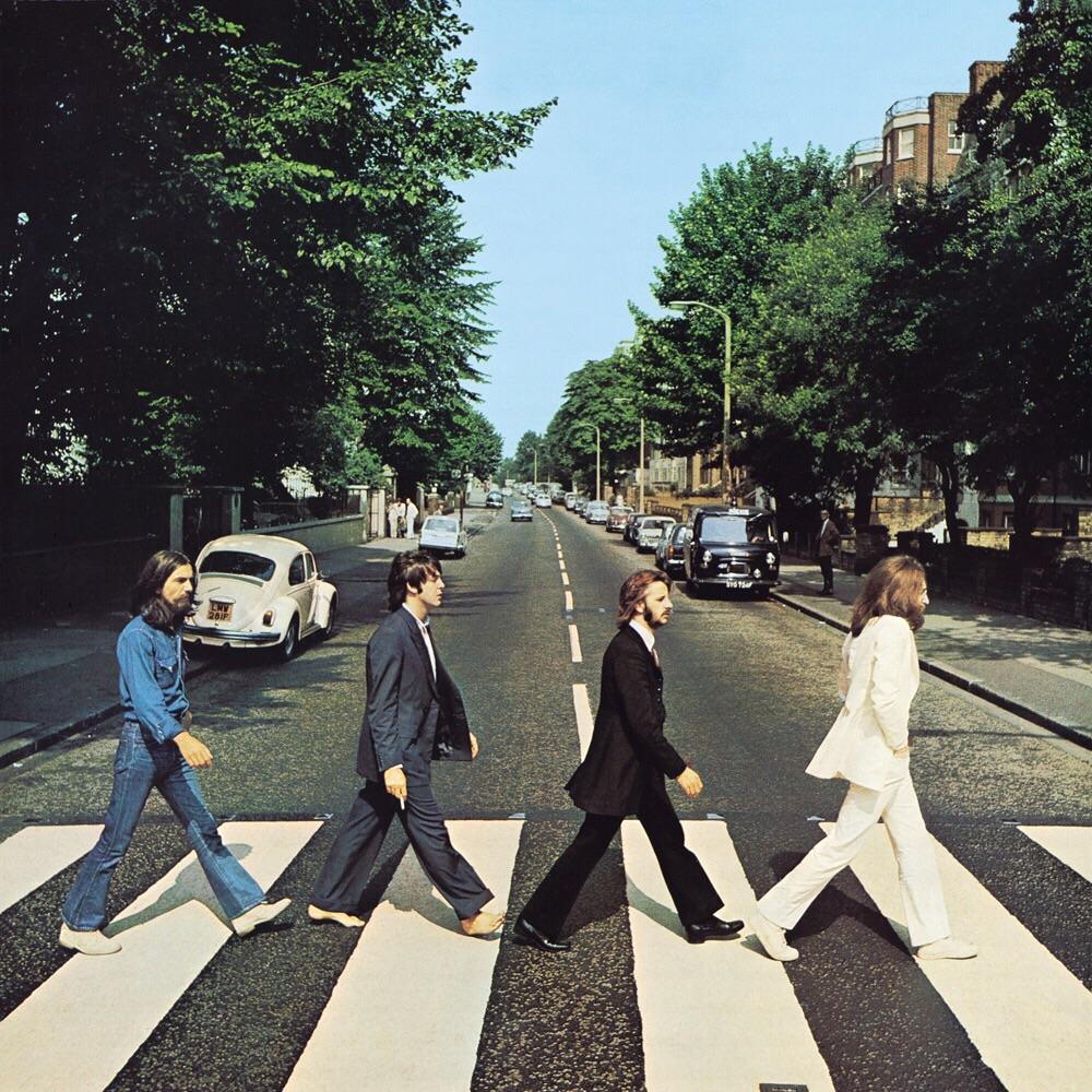 Abbey Road album cover, 1969.