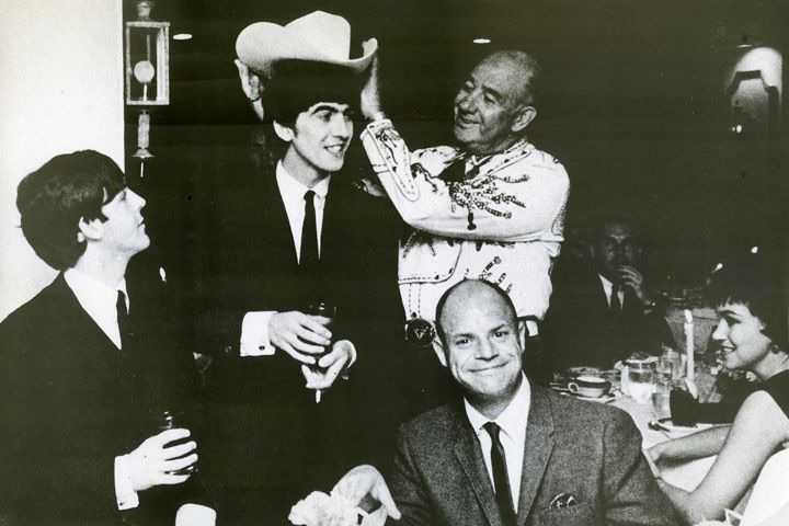 The Beatles with Don Rickles, February 1964.