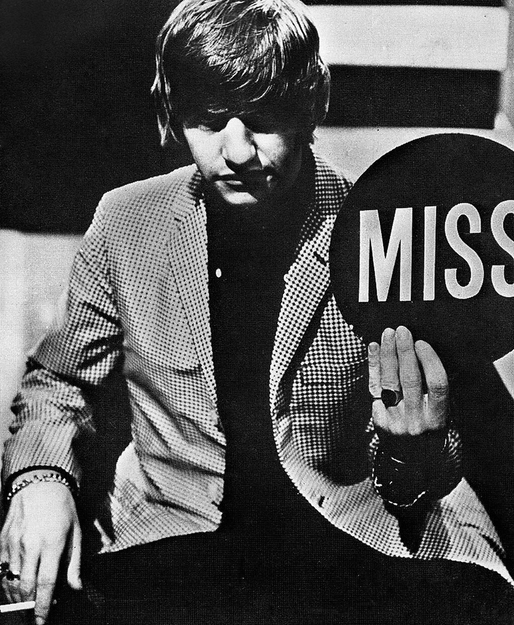 Ringo Starr on Juke Box Jury, December 1963.