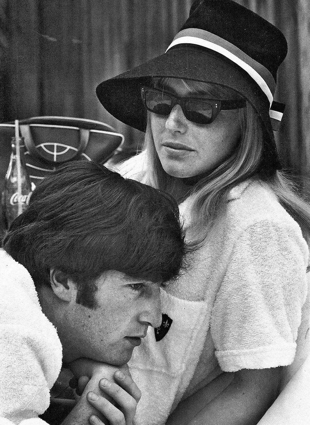 John and Cynthia Lennon, 1964.