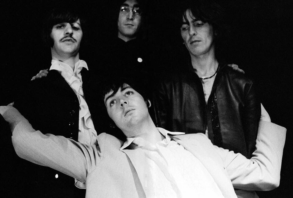 T he Beatles' Mad Day Out photo shoot, July 28th, 1968.
