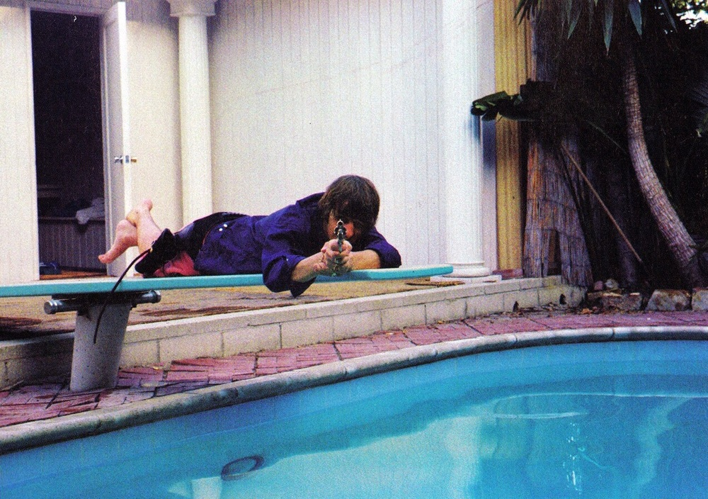 Ringo Starr in Bel Air, California, 1964. Photo by Bob Bonis.