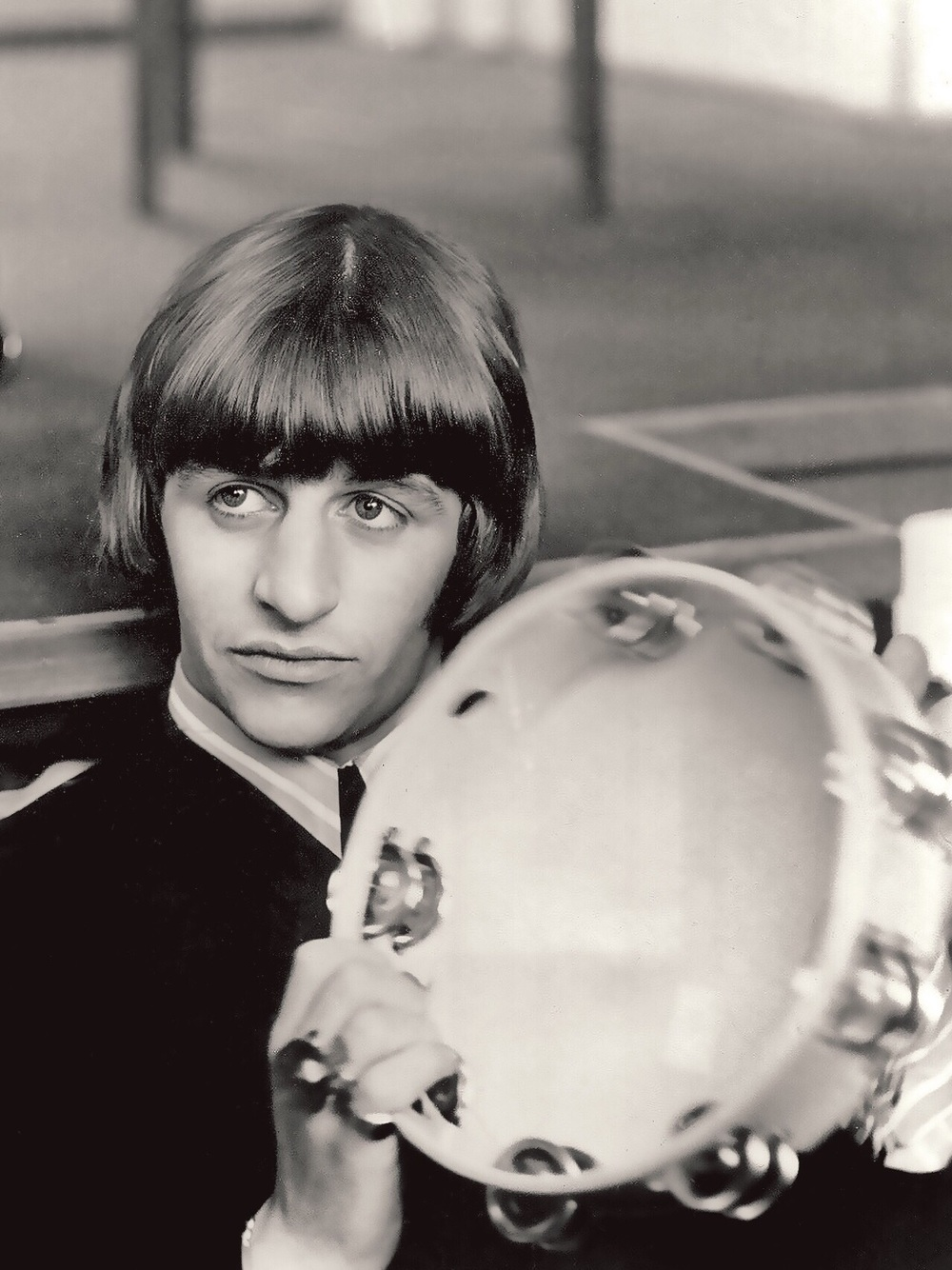 Ringo Starr filming Help! 1965.