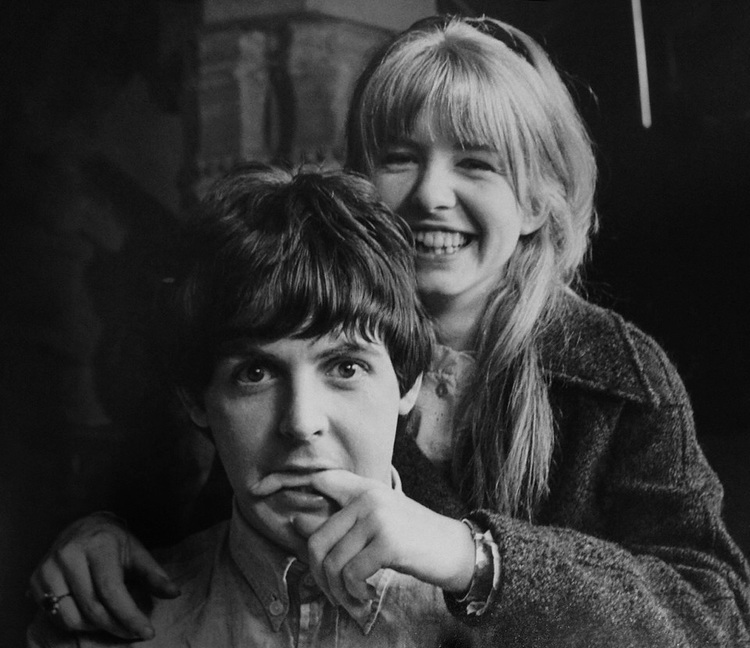 Nbsp Jane Asher With Paul McCartney