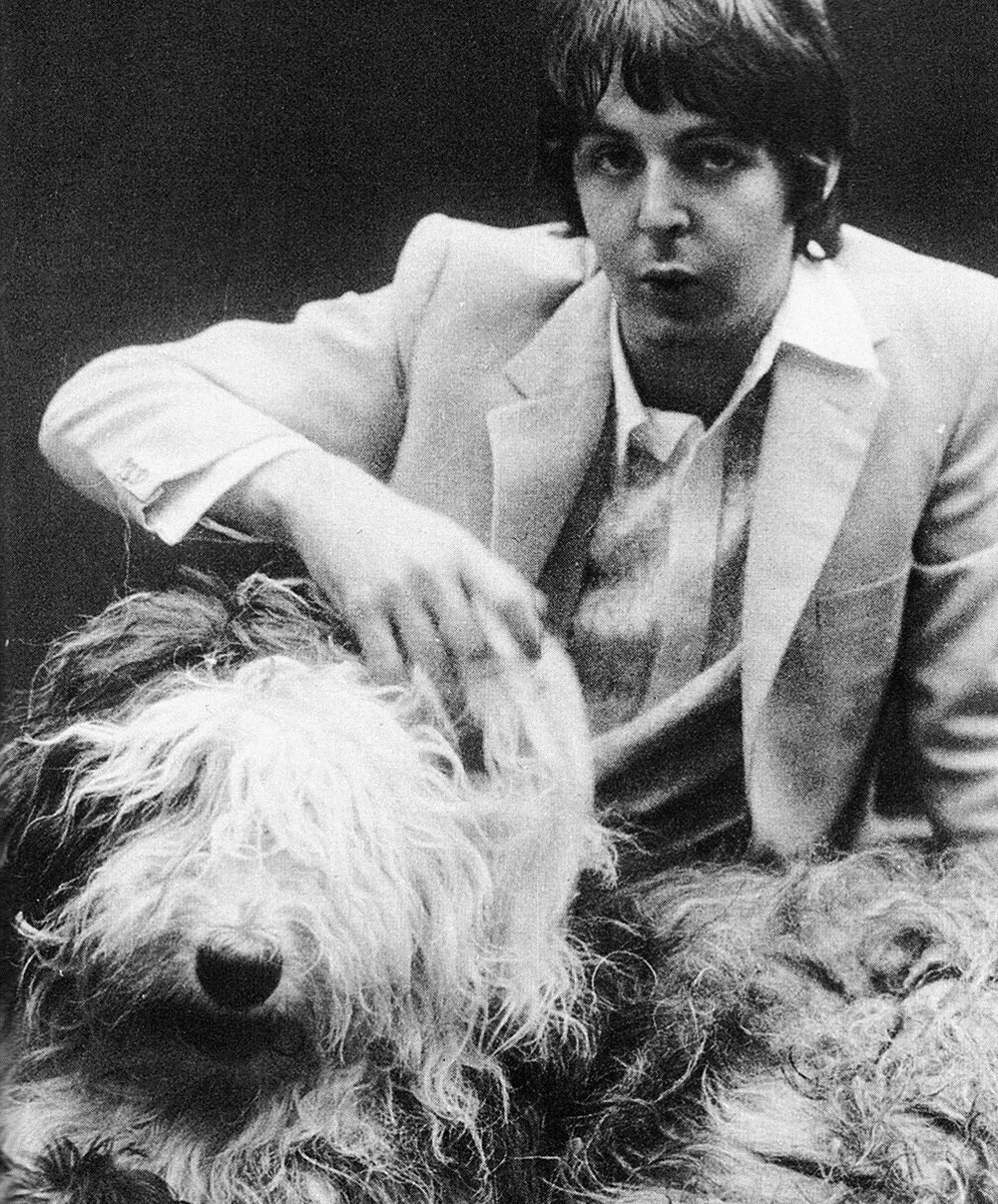 Paul McCartney on t he Beatles' Mad Day Out photo shoot, July 28th, 1968.