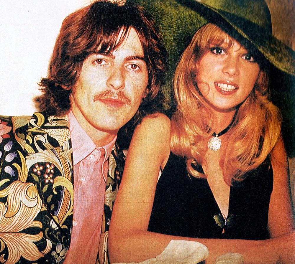 George Harrison and Pattie Boyd, circa 1968.