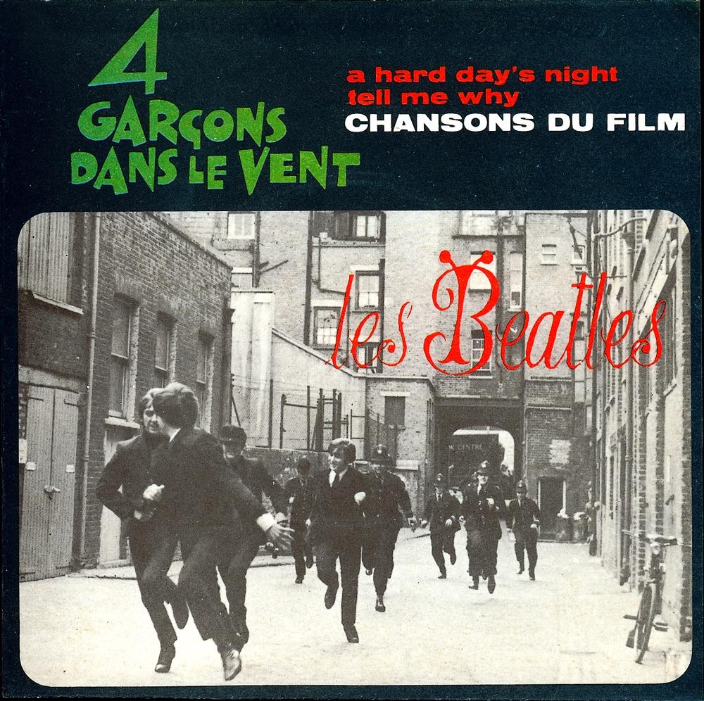 A Hard Day's Night single, 1964.